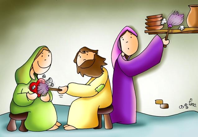 El consejo de Cristo a Marta