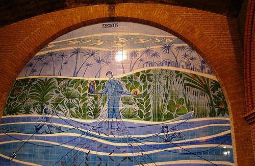 mosaico de aparecida