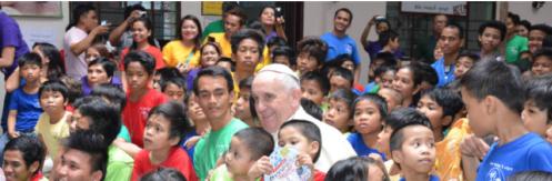 Papa en Filipinas