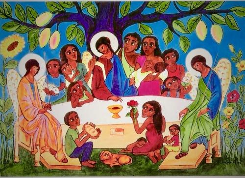 Resultado de imagen de invitados al banquete